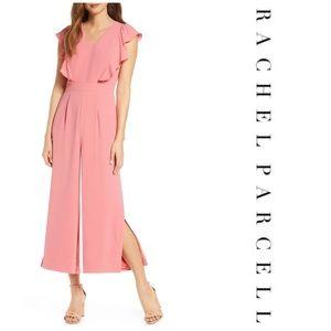Rachel Parcell Flutter Sleeve Jumpsuit